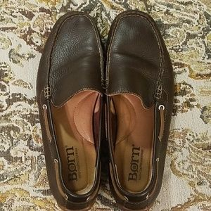 Born Leather Slip on Shoes